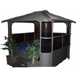 Free-Standing-Glass-House-Gazebo