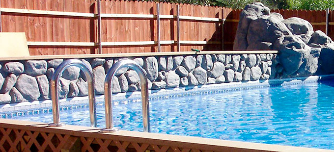 Vinyl lined pool installation process